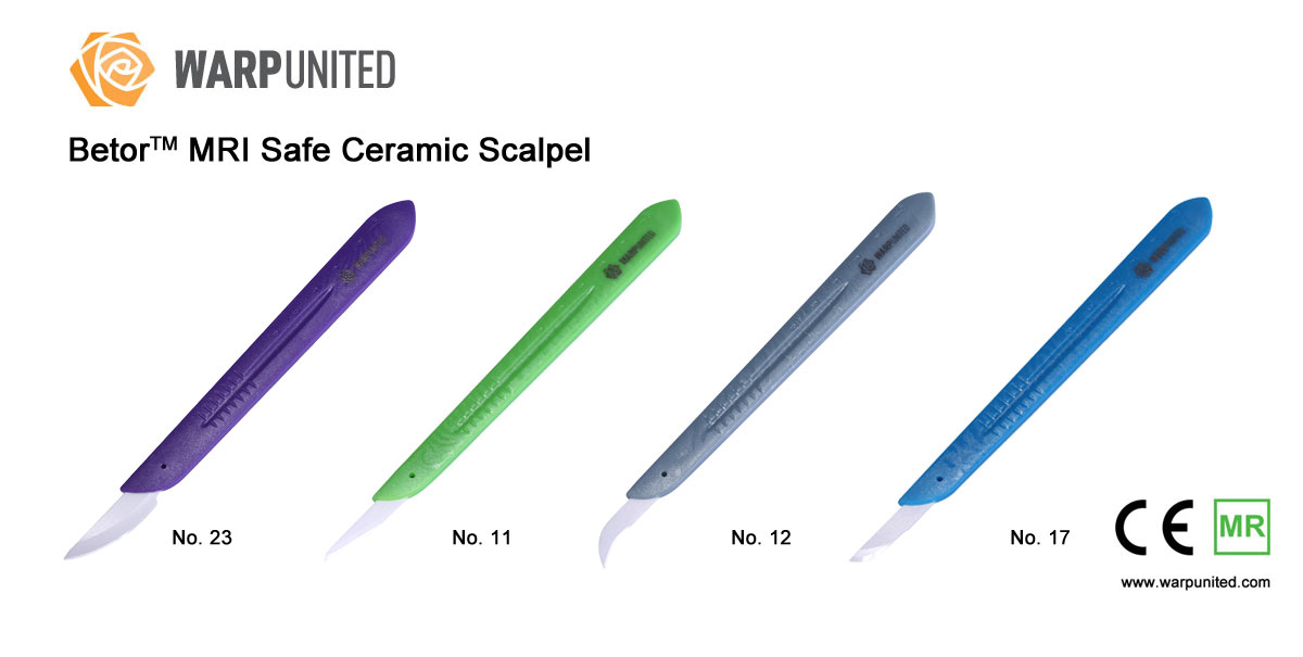 Betor MRI Safe Ceramic Scalpels